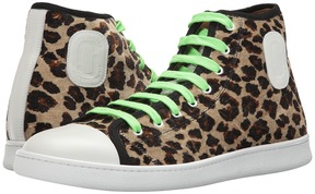 Marc Jacobs Leopard High Top Men's Shoes