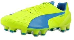 Puma EvoSpeed 1.4 FG Soccer Men US 10.5 Yellow Cleats