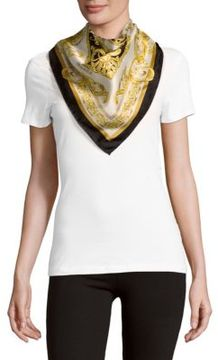Carre Printed Square-Shaped Foulard Scarf