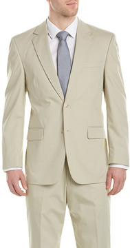 Kroon Boone Poplin Suit With Flat Pant