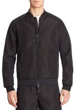Saks Fifth Avenue x Anthony Davis Textured Bomber Jacket