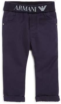 Armani Junior Boys' Elasticized-Logo-Waist Pants - Baby