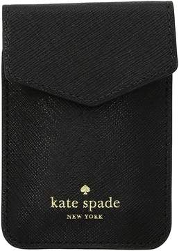 Kate Spade Envelope Sticker Pocket - BLACK - STYLE