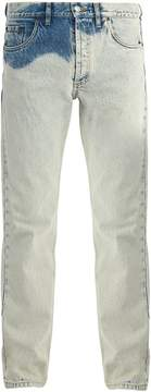 Balenciaga Bleached straight-leg jeans