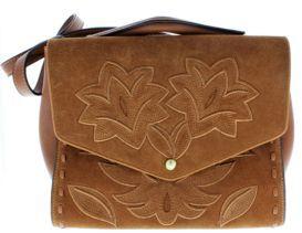 Sam Edelman Sophie Leaf Embroidered Purse