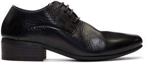 Marsèll Black Formichina Heeled Derbys