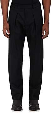 Lemaire Men's Wool Twill Carrot-Leg Trousers