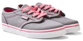 Vans Grey and Pink Lemona Atwood Trainers