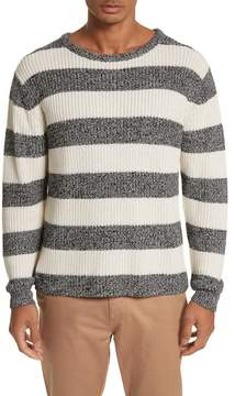 Saturdays NYC Lee Stripe Crewneck Sweater