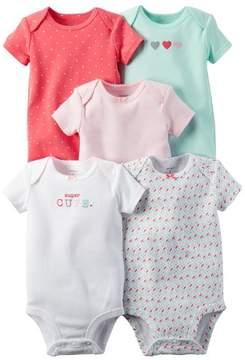 Carter's Baby Girls' Multi-PK Bodysuits 126g402