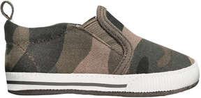 Joe Fresh Baby Boys' Slip On Sneakers, Khaki Green (Size 1)
