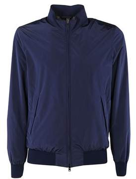 Herno Men's Gi0130u120149220 Blue Polyester Outerwear Jacket.