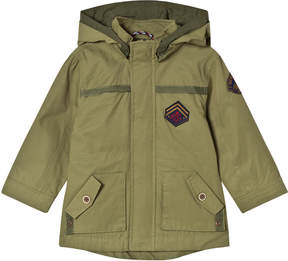 Mayoral Khaki Hooded Coat