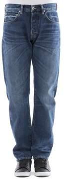 Edwin Men's Blue Cotton Jeans.