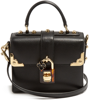 DOLCE & GABBANA Dolce Soft grained-leather bag