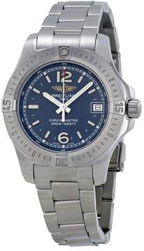 Breitling Colt Lady Blue Dial Stainless Steel Ladies Watch A7738811-C908SS