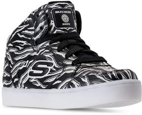 Skechers Little Boys' S Lights: Swipe Lights Energy Lights Light-Up High Top Casual Sneakers from Finish Line