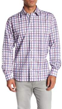 Tailorbyrd Long Sleeve Plaid Print Classic Fit Woven Shirt