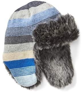 Gap Crazy stripe trapper hat