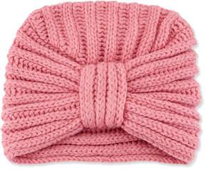 Neiman Marcus Rosie Sugden Classic Cashmere Head Turban, Rose