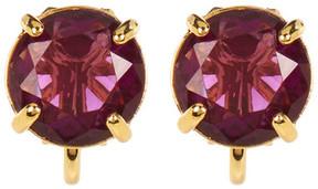 Carolee Round Stud Clip-On Earrings