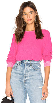 Wildfox Couture Vin Varsity Baggy B Sweater