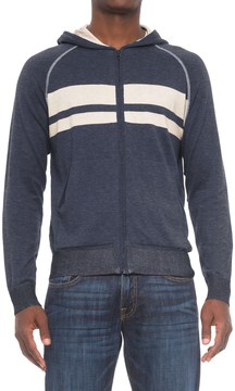 Agave Denim Agave Dorian Supima® Cotton Hoodie - Zip Front (For Men)