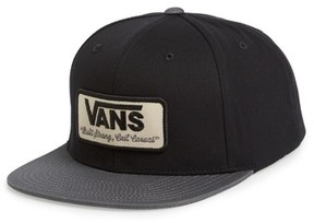 Vans Men's 'Rowley' Snapback Hat - Black
