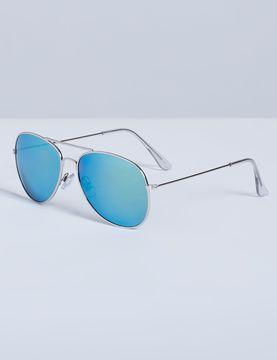 Lane Bryant Mirrored Aviator Sunglasses