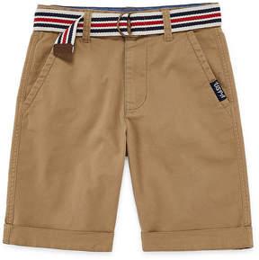 U.S. Polo Assn. USPA Chino Shorts - Big Kid Boys