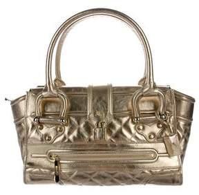 Burberry Metallic Manor Bag