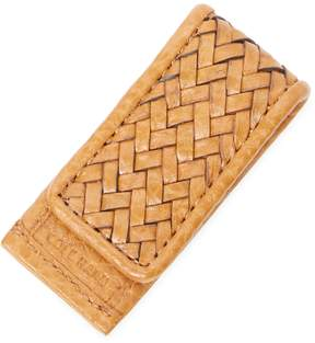Cole Haan Men's Woven Leather Money Clip