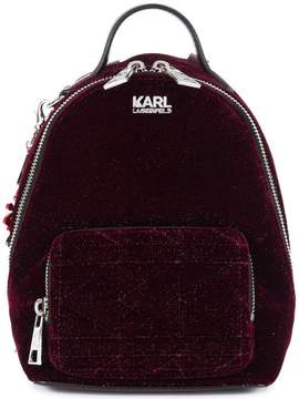 Karl Lagerfeld X Kaia Velvet Mini Bpack