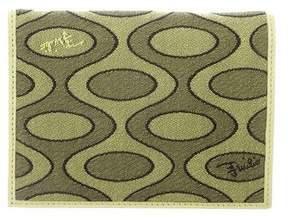 Emilio Pucci Woven Print Wallet
