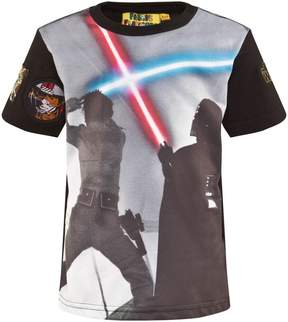 Star Wars Fabric Flavours Black Light Saber Tee