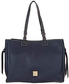 Dooney & Bourke As Is Pebble Leather Tote Handbag - Colette - ONE COLOR - STYLE