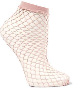 Falke Fishnet Socks - Pink