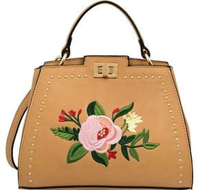 Mellow World Ella Floral Satchel Handbag (Women's)