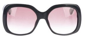 Marc Jacobs Strass Oversize Sunglasses