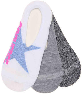 Converse Bold Star Women's's No Show Liners - 3 Pack