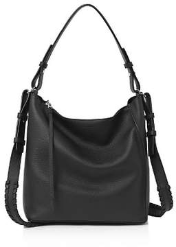 AllSaints Kita Pebbled Leather Crossbody
