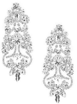 Cezanne Rhinestone Chandelier Earrings