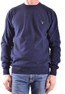 Gant Men's Blue Wool Sweater.