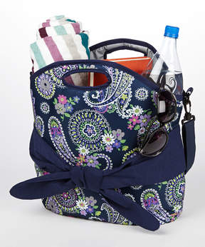Fit & Fresh Blue Maui Insulated Beach Tote