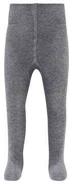 Falke Marl Grey Baby Tights