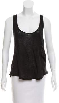 Anine Bing Linen Sleeveless Top w/ Tags