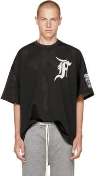 Fear Of God Black Mesh Batting Practice T-Shirt