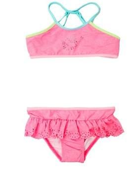 Seafolly Pink Tankini Swimsuit Children Jewel Cove Apron.