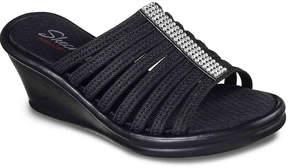 Skechers Cali Rumblers Hot Shot Wedge Sandal - Women's