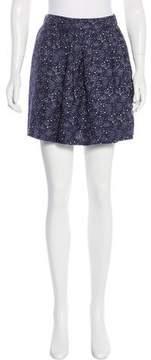Steven Alan Silk Printed Skirt